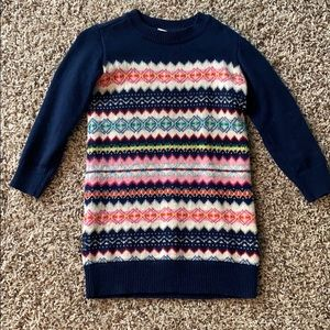 Girls Gap Sweater Dress-XS